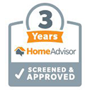 HomeAdvisor 3 Years Screened and Approved